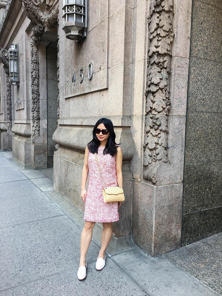9deee71bff4 Tweed Sheath Dress (+ Ann Taylor 50% Off Sale) - Elle Blogs