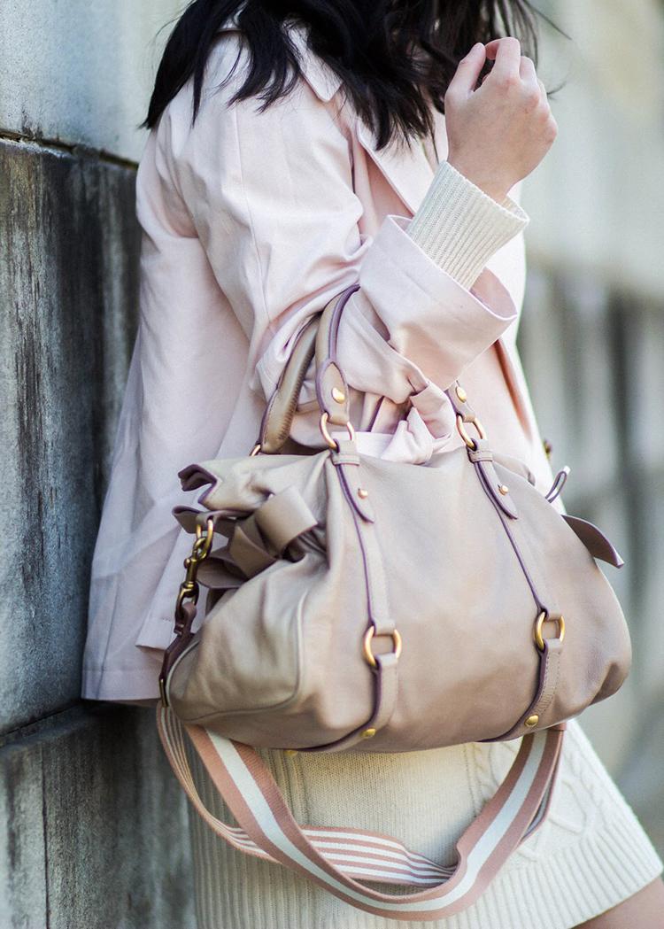 fcea495548c3 Mui Medium Size Vitello Lux Bow Bag Women S Fashion Bags Miu ...