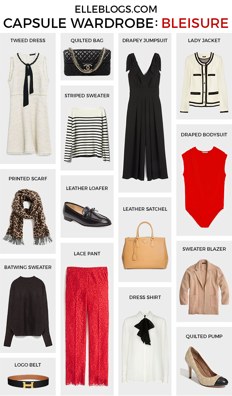 The Ultimate Capsule Wardrobe: Bleisure