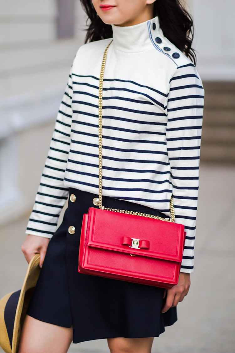 The J. Crew Striped Button-Shoulder Turtleneck Mystery