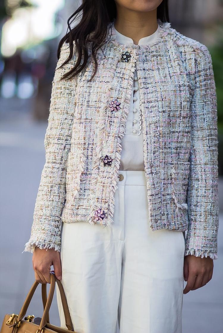 Multicolored Tweed (+ Weekly Shopping Update)