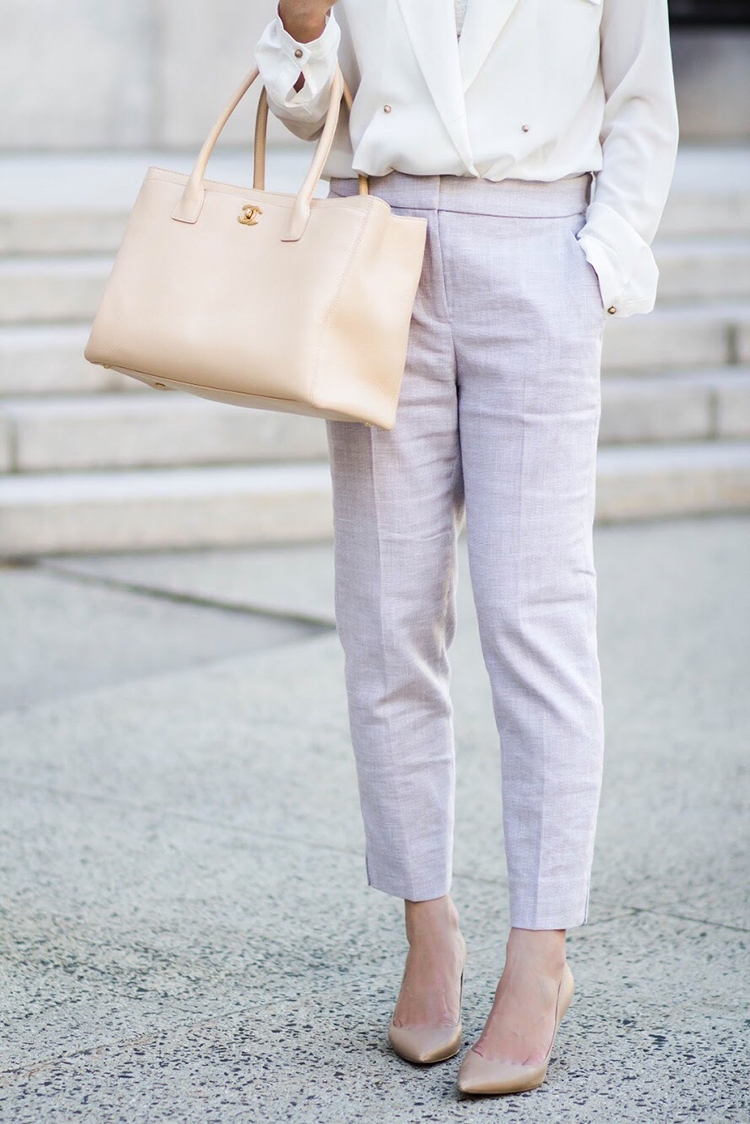Review: J. Crew Easy Pant in Stretch Linen