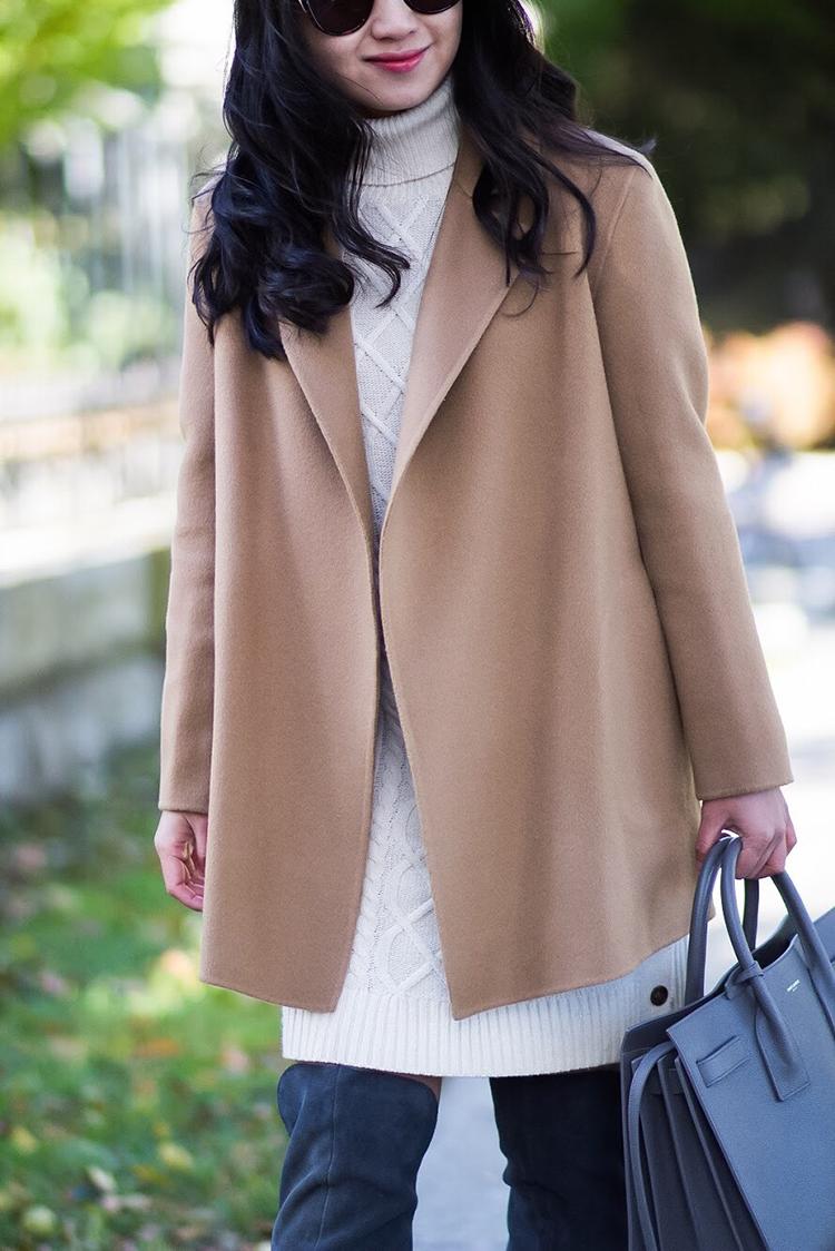 Fall Pairing: Sweater Dress + Tall Boots