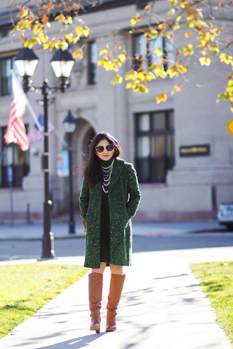 Green Tweed Elle Blogs