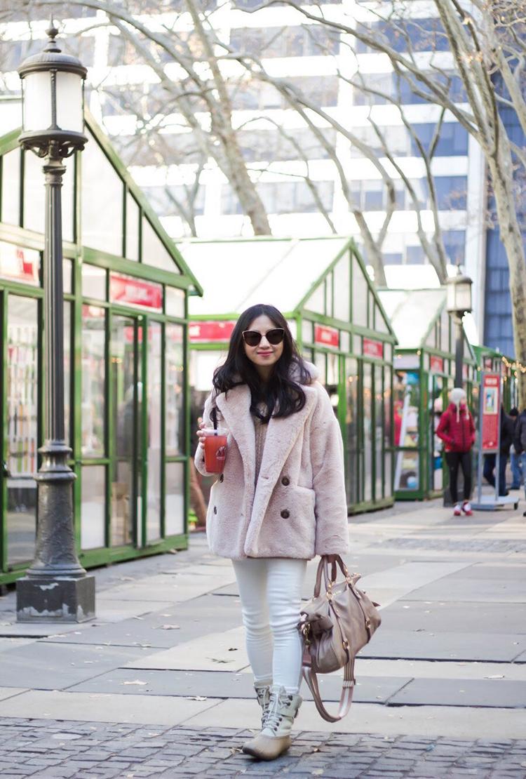 Review Free People Kate Faux Fur Coat Elle Blogs