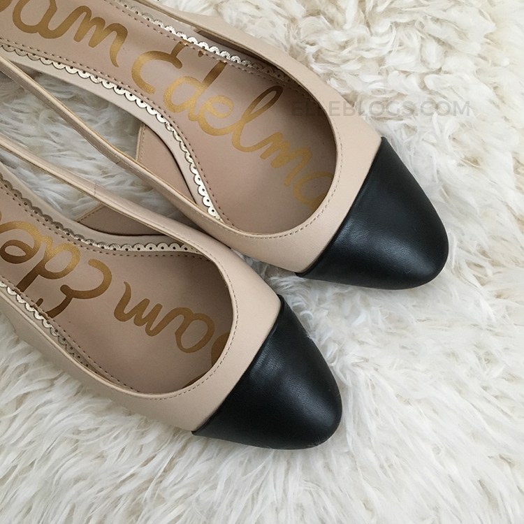 "3e312817fbc I picked up Sam Edelman s Leah Cap Toe Pumps last year (they made my 2018  ""favorites"" list) as they are affordably priced ( 120.00) and well  constructed."