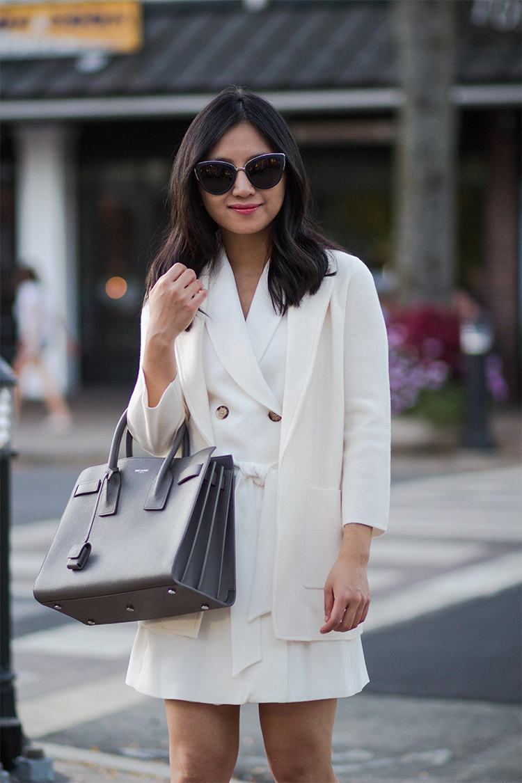 Trench Dress & Sweater Blazer