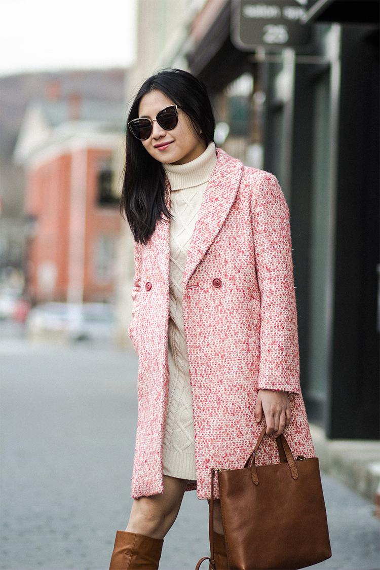 Tweed Coat (+ J.Crew Extra 60% Off Sale)