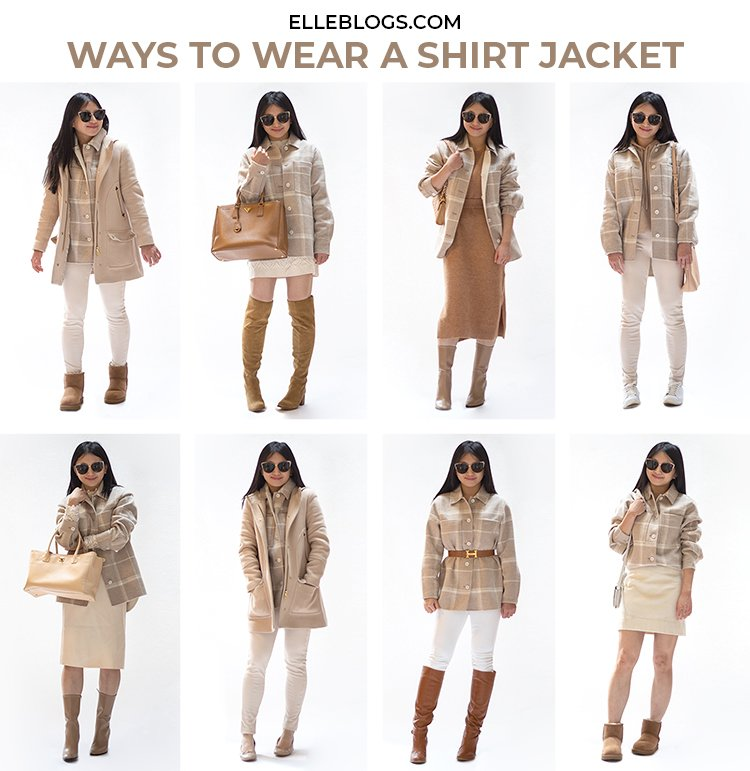 Ways to Style a Shirt Jacket
