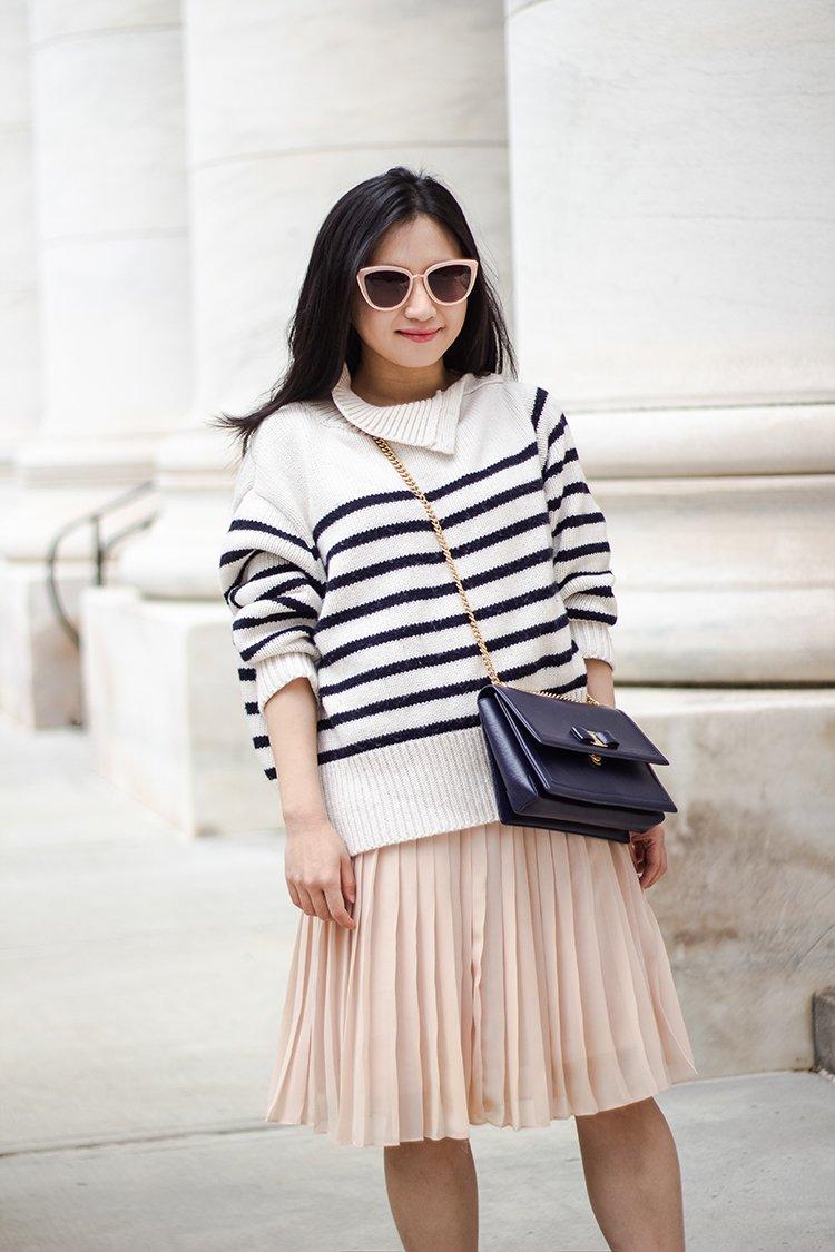 Stripes & Pleats Redux