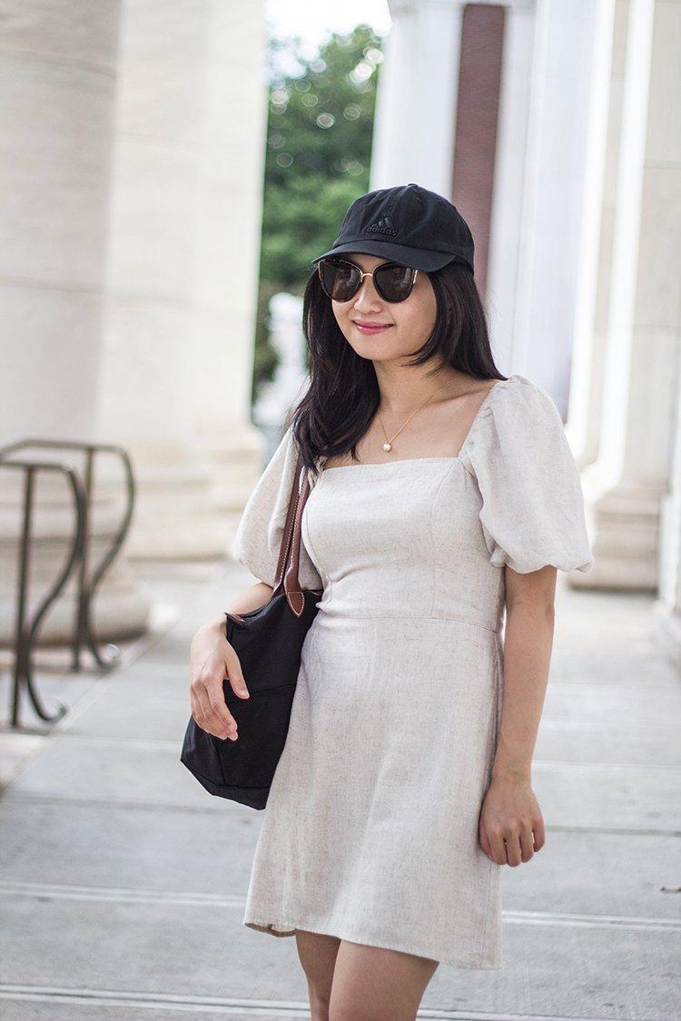 Puff-Sleeve Dress (+ Reformation Sale Picks)